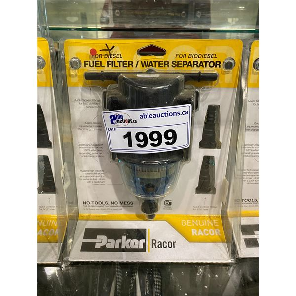 NEW IN PACKAGING PARKER RACOR FUEL FILTER FOR DIESEL