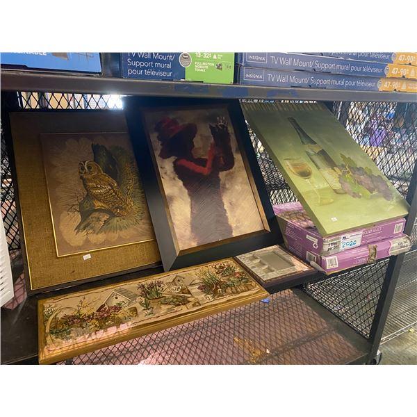 GOLDEN SELECT TILES, FRAMED ART & CANVAS