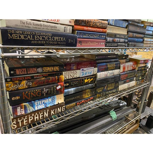 SHELF LOT OF ASSORTED BOOKS