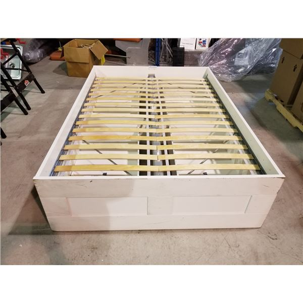 LUROY FULL/DOUBLE BED FRAME /W PULL OUT DRAWERS