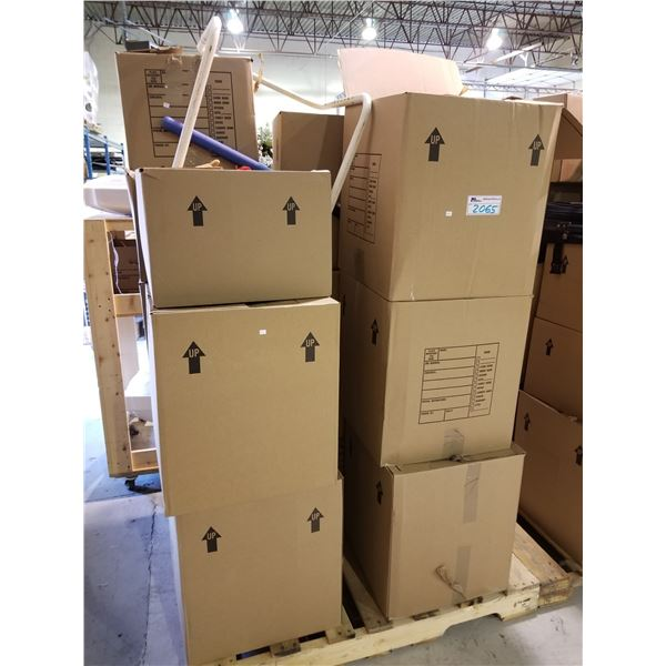 PALLET OF ASSORTED STORAGE LOCKER GOODS (HOUSEHOLD ITEMS, ETC)