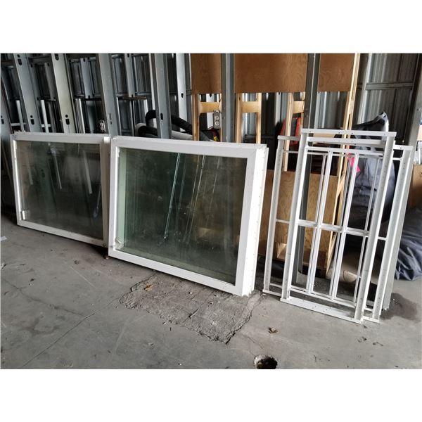 3 WINDOWS & WINDOW SECURITY BARS