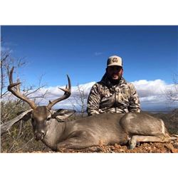 Trophy Coues Deer hunt in Mexico Fully Guided