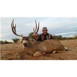 Trophy Coues Deer and Mule Deer Combo in Mexico Fully Guided 5-Day hunt