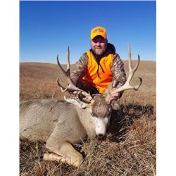 Nebraska Trophy Mule Deer Rifle Hunt