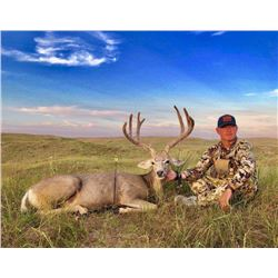 Archery Trophy Mule Deer hunt in Nebraska