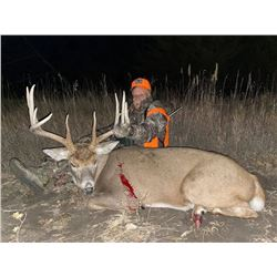 Nebraska Trophy Whitetail Muzzleloader hunt