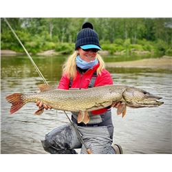Alaska Trophy Northern Pike Fly in Fishing