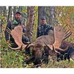 Alaskan Trophy 10- day Moose Hunt 2022