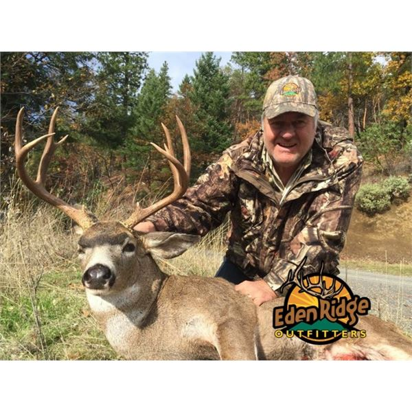5-day Columbian Blacktail Deer and Black Bear Hunt with Eden Ridge Outfitters