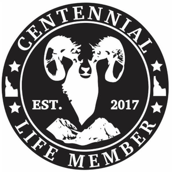 Idaho WSF Centennial Membership with Stone Glacier jacket and YETI Rhodie