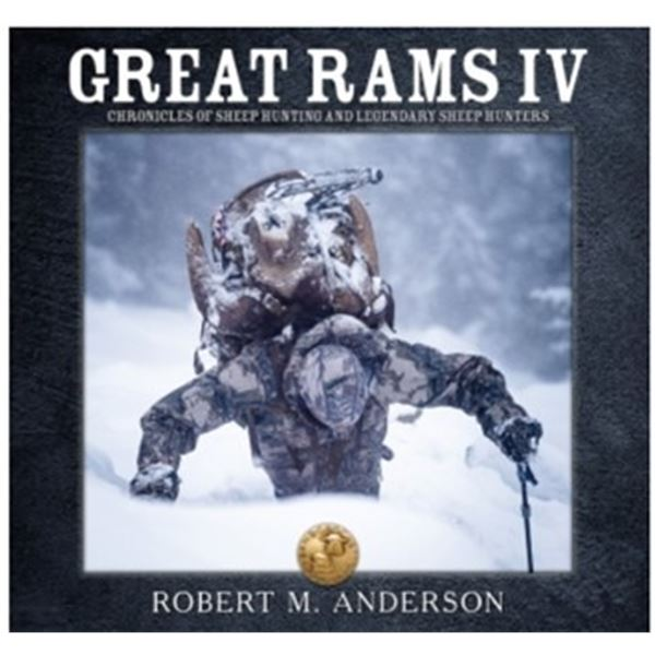 Boone & Crockett Great Rams IV Book