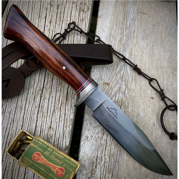 Broad Canyon Customs Hand Made Knife and Sheath