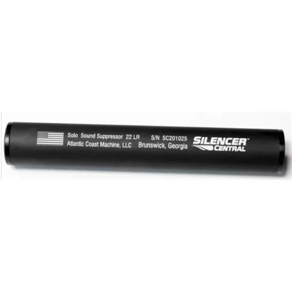 SoLo 22, 22LR suppressor from Silencer Central