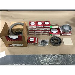 LOT OF CONSOLIDATED MISC. BEARING *PART #'S PICTURED*