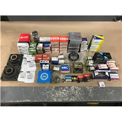 LOT OF MISC. BEARING *PART #'S PICTURED*