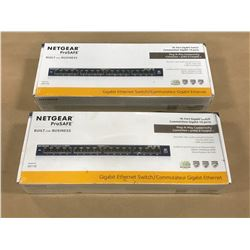 LOT NETGEAR GS116 ETHERNET SWITCH