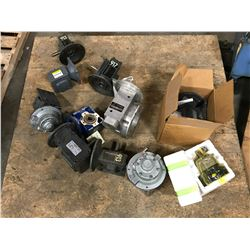 LOT OF MISC. GEAR REDUCERS *PART #'S PICTURED*