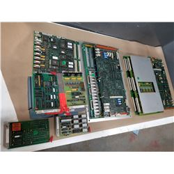 LOT OF MISC KRAUSSMAFFEI CIRCUIT BOARDS *SEE PICS FOR PART #S*
