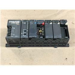 AUTOMATION DIRECT D2-06B-1 PLC RACK