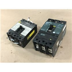 LOT OF SQUARE D CIRCUIT BREAKER *SEE PICS FOR PART #*