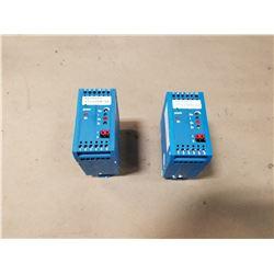 (2) MANNESMANN REXROTH VT11024-16, VT11025-16 RAIL MODULES