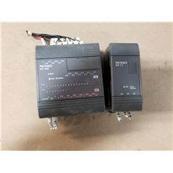 KEYENCE 5137096 & 5152780 POWER SUPPLY SET *SEE PICS FOR DETAILS*