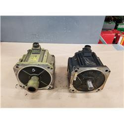 (2) NACHI MFM552HIV SERVO MOTORS