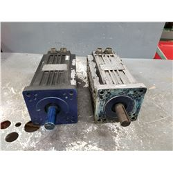 (2) MODICON S74D-E01-F010 & S74D-E00-F010  SERVO MOTOR