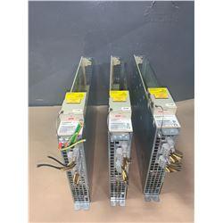 (3) - SIEMENS 6SN1123-1AB00-0AA1 LT-MODUL INT. 2X15A