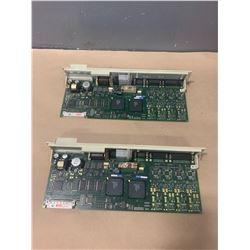 (2) - SIEMENS 6SN1118-0DJ23-0AA1 CIRCUIT BOARDS