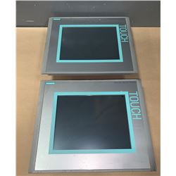 (2) - SIEMENS 6AV6 643-0CD01-1AX1 MP277 10  TOUCH SCREENS