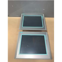 (2) - SIEMENS 6AV6 644-0AA01-2AX0 MP377 12  TOUCH SCREENS
