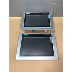 (2) - SIEMENS 6AV2 124-0JC01-0AX0 TP900 TOUCH SCREENS