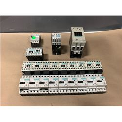LOT OF SIEMENS CONTACTORS (SEE PICS FOR PART NUMBERS)