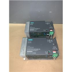 (2) - SIEMENS 6EP1434-1SH01 SITOP POWER 10 POWER SUPPLY