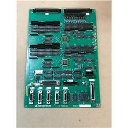 MORI SEIKI E76033 B2 9703059 I/O PANEL64 CIRCUIT BOARD