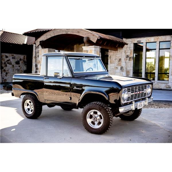 Ted Nugent's 1968 Ford Bronco Half Cab
