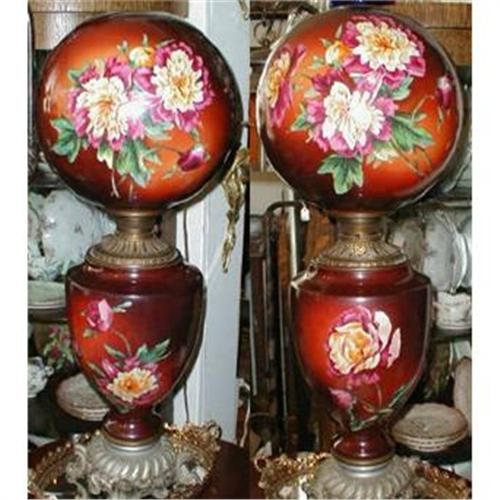 Gone With The Wind Lamp Antique Gwtw X Large 1541402
