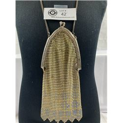 1920's Art Deco Enameled Mesh Bag