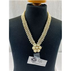 1950's Genuine Pearl Necklace From Japan