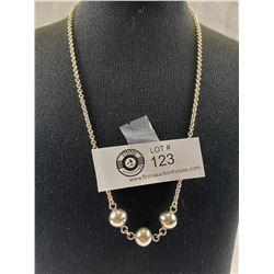 Elegant Sterling Silver Necklace