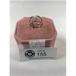.925 Ring Size 8 1/2