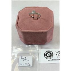.925 Ring Size 9 1/2