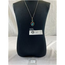 .925 Butterfly Wing Necklace