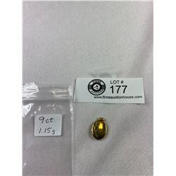 Vintage 9K Gold Locket, Weighs 1.15G