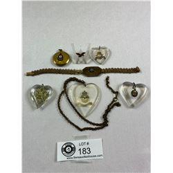 WW2 Sweetheart Jewelry Lot