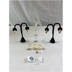 Ivory And 14K Lot, As Is