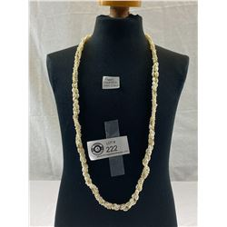Vintage Pearl Necklace With 14K Clasp