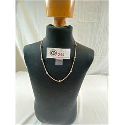 """18"""" Sterling Silver Necklace, 6g"""